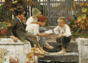 Boredom is essential to develop children's imagination