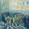 "Vincent Van Gogh ""Prisoners Exercising (after Doré)"""