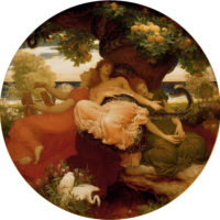 """Garden of the Hesperides"" Sir Frederick Leighton"
