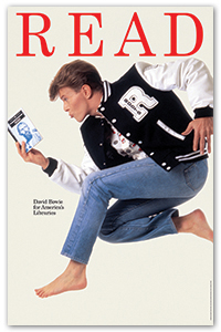 ALA READ Poster Bowie 1987