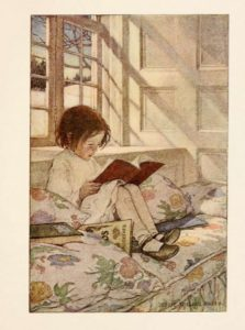 "Image for ""A Child's Garden of Verses"" (1905) by Jessie Willcox Smith"