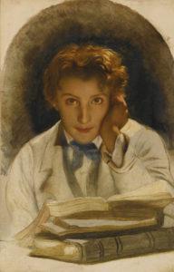 Paul Delaroche - portrait of his son Joseph-Carle (1815)