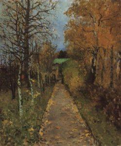 """""""Autumn"""" Konstantin Korovin (1888)"""