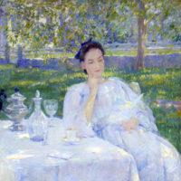 In the Garden by Robert Reid