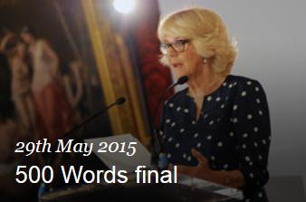 HRH Duchess of Cornwall Speech BBC 500 Words 2015 #500Words #stories #children