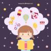 Girl Imagination - designed by Freepik