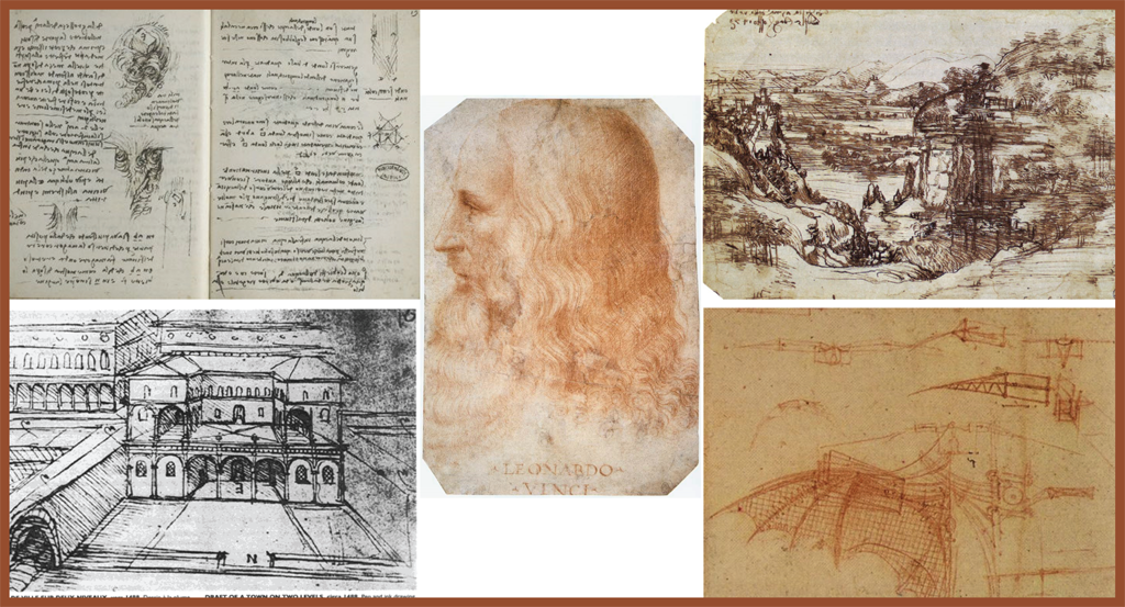 Leonardo Da Vinci - imagination is just the start