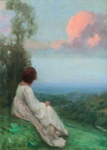 Dreaming - Oreste Pizio (1879–1938)