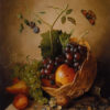 Still Life With Grapes by Willem Verbeet