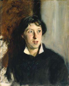 Vernon Lee (Violet Paget) 1881 by John Singer Sargent 1856-1925