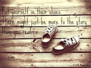"""K-Love Morning Show """"Walk in their shoes"""""""