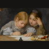 Albert_Anker_(1831-1910)_Schreibunterricht,_1865.