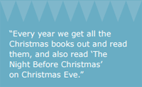 Egmont - Christmas Traditions and the Emotional Power of Reading