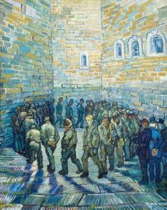 "Vincent Van Gogh ""Prisoners Exercising (after Doré)"""