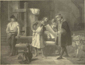 Johannes Gutenberg and the world's first printing press