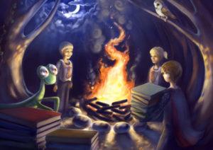 Kindler's bonfire of books
