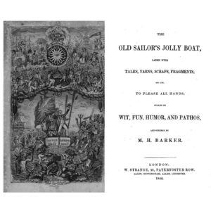 """""""The Old Sailor's Jolly Boat"""" 1844"""