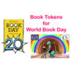 Litrasaurus Book Tokens for World Book Day