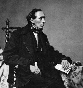 Hans Christian Andersen (1805-1875), Hanfstaengl, Fotographie 1860