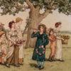 Little Girls & Little Lambs by Kate Greenaway