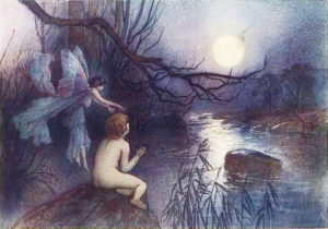 """Mrs DoAsYouWouldBeDoneBy and Mrs BeDoneByAsYouDid in """"The Water Babies"""" by Charles Kingsley"""