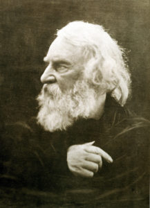 Henry Wadsworth Longfellow (February 27, 1807 – March 24, 1882)