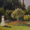 Monet, Claude. 1840-1926 Woman in the Garden. Sainte-Adresse