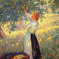 """The Apple Gatherer"" by Helen Galloway McNicoll"