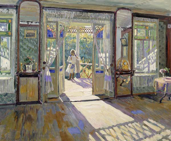 In a House - Sergei Arsenevich Vinogradov