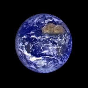 NASA earth from the moon