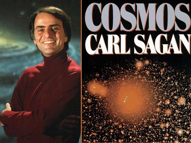 """Carl Saga """"Cosmos"""""""