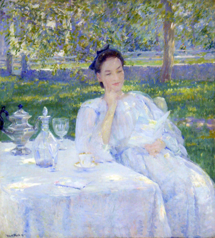 In the Garden by Robert Reid