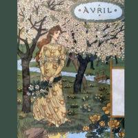 La Belle Jardiniere – April Eugène Grasset