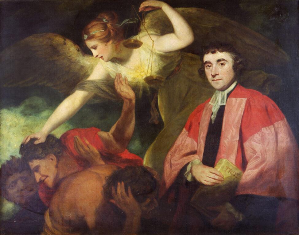 Dr James Beattie (1735-1803); University of Aberdeen - Joshua Reynolds