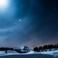 February Twilight Poem